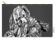 Soft Puppy Drawing Carry-all Pouch