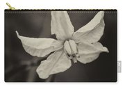 Soft Sepia Bloom Carry-all Pouch
