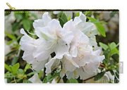 Soft White Azaleas Carry-all Pouch