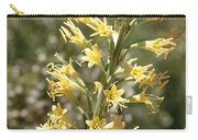 Soft Yellow Desert Flowers Carry-all Pouch
