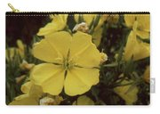 Soft Yellow Flowers Carry-all Pouch