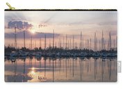 Softly - God Rays And Yachts In Rose Gold And Amethyst  Carry-all Pouch