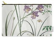 Softly Purple Crocus Carry-all Pouch