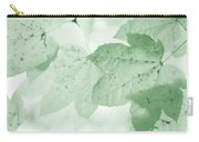 Softness Of Green Leaves Carry-all Pouch