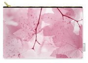 Softness Of Pink Leaves Carry-all Pouch
