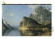 Sogne Fjord Norway  Carry-all Pouch