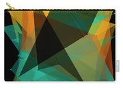 Soil Polygon Pattern Carry-all Pouch