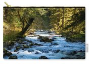 Sol Duc River Above The Falls - Washington Carry-all Pouch