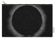Solar Eclipse By Hinode Observes, Nasa 2 Carry-all Pouch