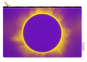 Solar Eclipse In Purple Carry-all Pouch