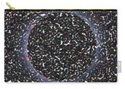 Solar Eclipse In Totality 5 Aboriginal Dotted Art Style Carry-all Pouch
