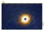 Solar Eclipse In Totality Painting Carry-all Pouch