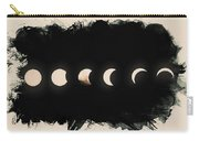 Solar Eclipse Phases Carry-all Pouch