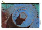 Solarized Rusty Fire Hydrant Carry-all Pouch