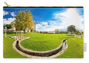 Solin Park And Church Panoramic View Carry-all Pouch