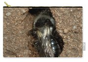 Solitary Bee  Andrena Cinearia Carry-all Pouch