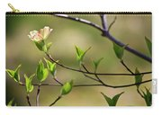 Solitary Dogwood Bloom Carry-all Pouch