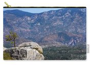 Solitary Pine On Promontory Carry-all Pouch
