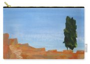 Solitary Tree On Rocks Carry-all Pouch