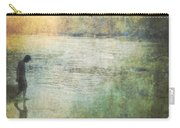 Solitary--walking In Water Carry-all Pouch