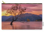 Solitary Willow Tree Carry-all Pouch