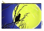 Solitary With Golden Moon Carry-all Pouch