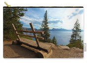 Solitude At Crater Lake Carry-all Pouch