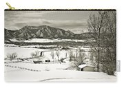 Solitude In Boulder County Carry-all Pouch