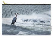 Solitude In Stormy Waters Carry-all Pouch