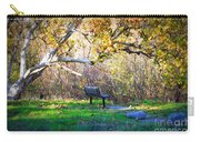 Solitude Under The Sycamore Carry-all Pouch by Carol Groenen