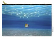 Solo Under The Turquoise Sea Carry-all Pouch