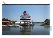 Solomons Island - Drum Point Lighthouse Reflecting Carry-all Pouch
