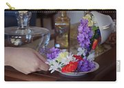 Some Floral Tea? Carry-all Pouch