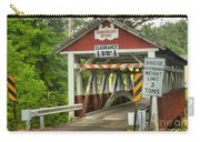 Somerset County Burkholder Covered Bridge Carry-all Pouch
