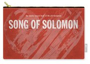 Song Of Solomon Books Of The Bible Series Old Testament Minimal Poster Art Number 22 Carry-all Pouch