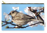 Song Sparrow Dining Out Carry-all Pouch