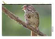 Song Sparrow Song Carry-all Pouch
