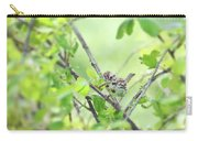 Song Sparrow With Dinner Carry-all Pouch