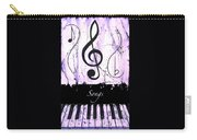 Songs - Purple Carry-all Pouch