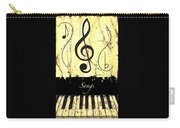 Songs - Yellow Carry-all Pouch