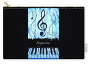 Songwriter - Blue Carry-all Pouch