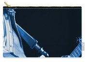 Sonic Blue Guitar Explosions Carry-all Pouch