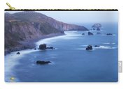 Sonoma Coastline After Dark Carry-all Pouch by Jim Thompson