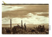 Sonoran Desert Mountains And Cactus Near Phoenix Carry-all Pouch