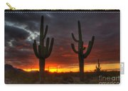 Sonoran Desert Sunrise 1 Carry-all Pouch