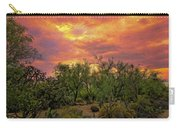 Sonoran Desert Sunset Op46 Carry-all Pouch