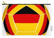 Soocer Ball With Germany Flag Carry-all Pouch