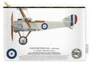 Sopwith Triplane Prototype - Side Profile View Carry-all Pouch