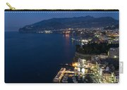 Sorrento Bay At Night Carry-all Pouch