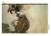 Soul Of A Bird Carry-all Pouch by Caroline Jamhour